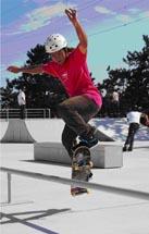 塩浜第二公園スケートパーク